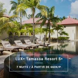 Séjour Île Maurice : LUX* Tamassa Resort 5*