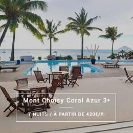 Séjour Île Maurice : Mont Choisy Coral Azur 3*