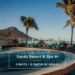 Séjour Île Maurice : Sands Resort & Spa 4*