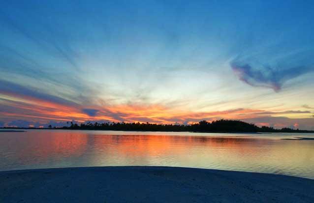 catamaran : sorite sunset à l'ile maurice