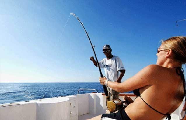 Excursion : pêche au gros