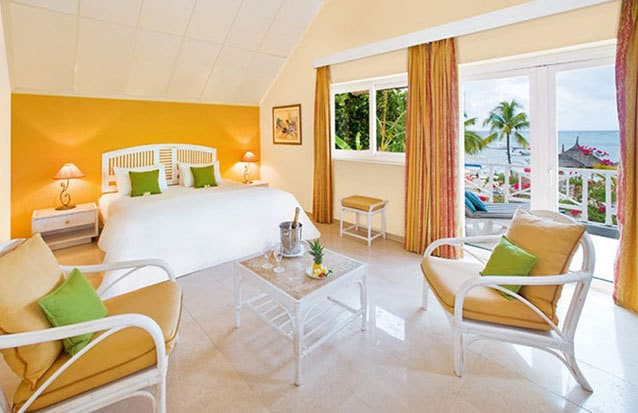 S jour maurice merville beach hotel nouvini ile maurice for Chambre d hote ile maurice