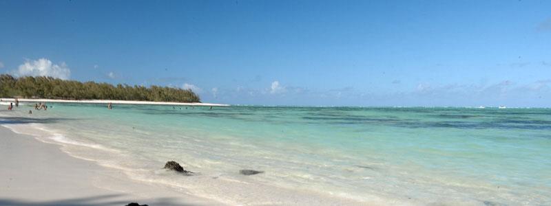 Plage île Maurice : Île aux Cerfs