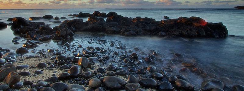 Plage île Maurice : Plage Rivière de Galets