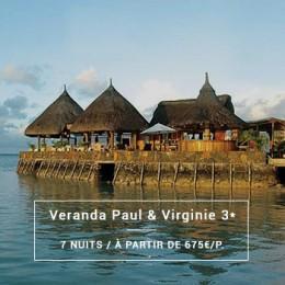 Séjour Île Maurice : Veranda Paul & Virginie 3*