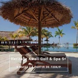 Séjour Île Maurice : Heritage Awali Golf & Spa 5*