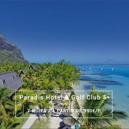 Séjour Île Maurice : Paradis Hotel & Golf Spa 5*