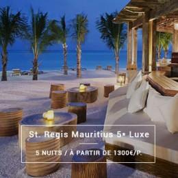 Séjour Île Maurice : St. Regis Mauritius 5* Luxe