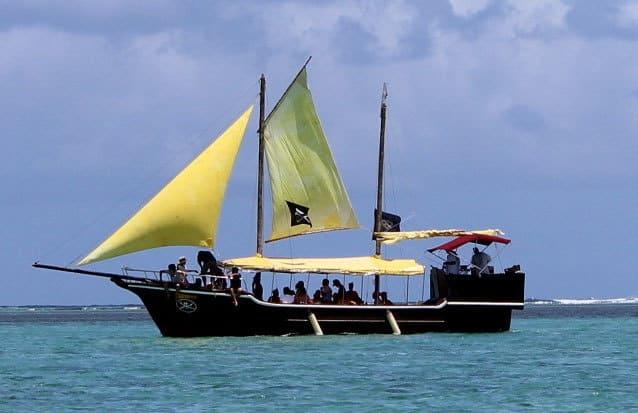 bateau pirate : partez à l'abordage de l'ile maurice !