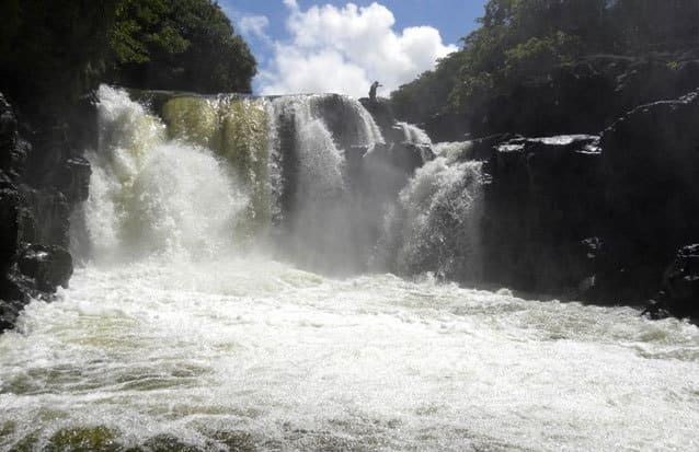 Ile maurice : la cascade de Grand Rivière Sud-Est
