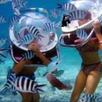 scaphandrier : marchez sous l'eau à l'île maurice