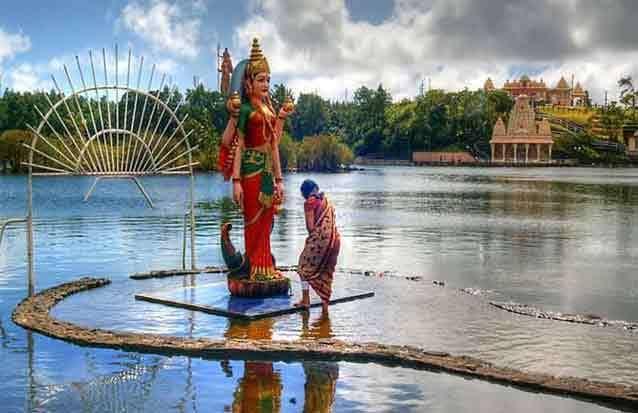 Grand bassin : lieu culturel hidou à l'ile maurcie
